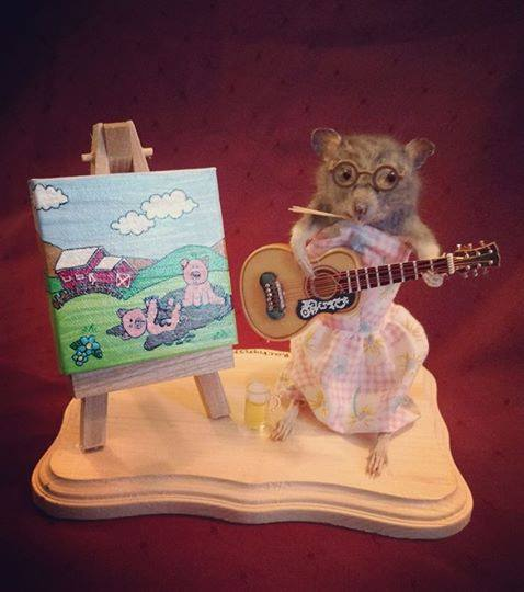 Musician and farming lady rat!